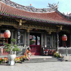 Le temple de Longshan 龍山寺
