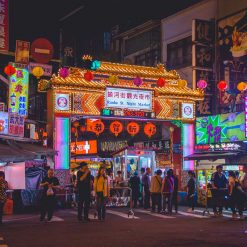Les marchés de nuit 台北夜市